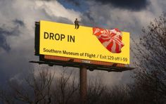 Southern Museum Of Flight/Exist 129 off I-59 billboard advertisement was published in November 2009.