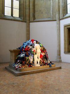 """(A) Michelangelo Pistoletto - Venere degli stracci (""""Venus aux chiffons"""") #UneSource"""