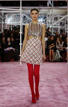 Dior Haute Couture SS15 Fashion Show