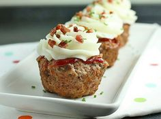 Meatloaf Cupcakes 1