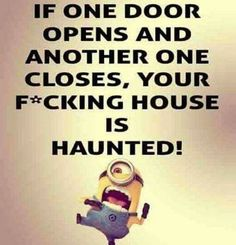 29 Funny Minion Quotes Then don't go giving 100%! Just pray it's not an important call! There's one to think about. You enjoy me, you do! Besties for life. I feel like it may never be cured. So don't worry about it! Ooh, aren't they spooky? This only works in October, pity. Why are you …