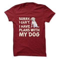 Sorry, I can't. I have plans with my dog