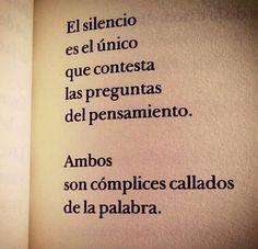 El silencio...☺