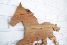 Rustic Horse Sign Wall Decor Wood Horse Weathervane Farm Country Wall Art #7010 Country Wall Art, Country Farm, Nature Decor, Wooden Walls, Wall Signs, Wall Decor, Horses, Rustic, Handmade Gifts