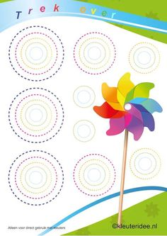 Trek over  , kleuteridee.nl , taal voor kleuters, thema zomer , summer theme for preschool free printable.
