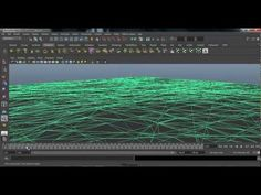 How to Create a Shatter effect in maya - YouTube