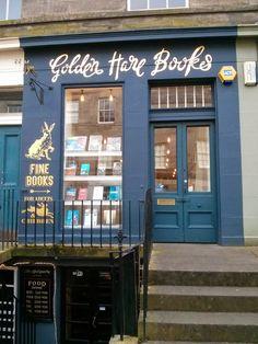 Golden Hare Books ~ Edinburgh, Scotland