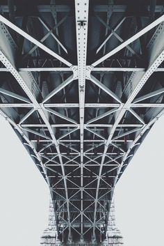 souhailbog:Urban Bridge By Simon Alexander Magic Places, Perspective Photography, City Aesthetic, Civil Engineering, Architecture Design, Industrial Architecture, Industrial Design, Techno, Cool Photos