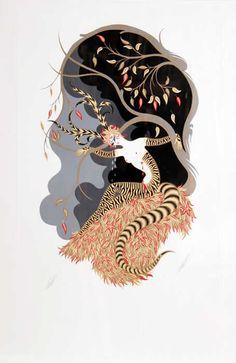 Groups / Artist Palette Challenge / Conversations / APC#48 Erté (Romain de Tirtoff) :: COLOURlovers