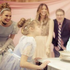 Ally's Bibbidi Bobbidi Boutique Royal Tea Birthday Party: When your mom's known for throwing some of the most original parties for Hollywood's most famous tots, you can be sure she's got something fabulous up her sleeve for your seventh birthday.