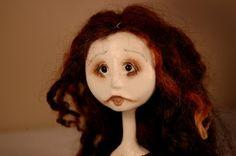 Soline OOAK Art Doll by CheekieBottoms on Etsy