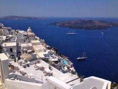 santorini, greece, fira, oia, the caldera, islands