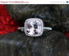 Check out this item in my Etsy shop https://www.etsy.com/listing/205329500/on-sale-engagement-ring-cuscino-grand