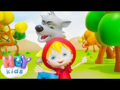 Little Red Riding Hood in french - HeyKids Lion Tattoo, Red Riding Hood, Grimm, Little Red, Yoshi, Tinkerbell, Youtube, Play, Android