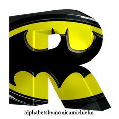 Disney Cars Birthday, Batman Birthday, Batman Party, Superhero Party, Superhero Logos, Batman Batman, Printable Alphabet Letters, Monogram Alphabet, Monogram Logo