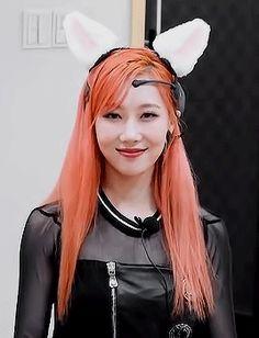 Kpop Girl Groups, Korean Girl Groups, Kpop Girls, Kim Min Ji, Where Is The Love, Wattpad, Ice Queen, Girl Bands, Purple Hair