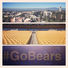Welcome to the renovated Memorial Stadium. #GoBears@Cal