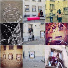 Taller de Madrid Street Museum / Alumnas del... - instalaciones efimeras