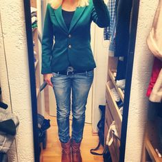 OOTD No. 123 :-) Bitteschön!!  Habt noch einen tollen Abend.  ........  Here is another outfit post for you!! :-) Have a great evening!!!    #fashion #look #outfit #ootd #boots #womenswear