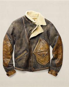 Shearling Jacket - Lightweight & Quilted Jackets & Outerwear - RalphLauren.com