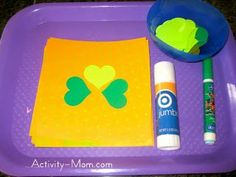 The Activity Mom: Host a St. Patrick& Day Tot School The Activity Mom: Host a St. Toddler Learning Activities, Rainy Day Activities, Holiday Activities, Toddler Preschool, Educational Activities, Preschool Crafts, Fun Learning, School Games, Tot School