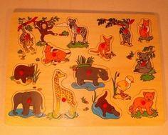 Knoppuzzel jungle groot Speelgoed Categorie: