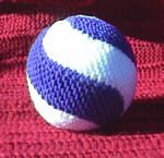 If I make hundreds of these, I can make little wings and have fatbirds. Swirl Ball