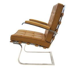 Ludwig Mies van der Rohe Tugendhat lounge chair by Knoll   From a unique collection of antique and modern lounge chairs at http://www.1stdibs.com/furniture/seating/lounge-chairs/