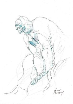 Alex Chung, bear1na: Batman by Frank Quitely *