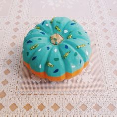 Pin for Later: Doughnut Pumpkins Are the Epic Halloween Hybrid You Didn't Know You Needed