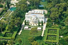 Probably my favorite home in the world. The Chateau de la Croë in Antibes, France.  I was lucky enough to visit this amazing  about 19 years ago before Roman Abramovich bought it.