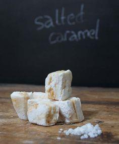 salted caramel marshmallow - InLoveWithMacarons