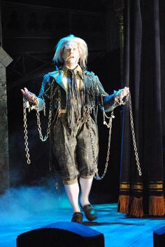 Jonathan Young as the Ghost of Jacob Marley in A Christmas Carol. Photo by Abby LePage. www.berkshiretheatregroup.org