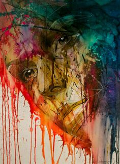 The emotion of color....Artist :Hopare