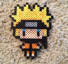 Naruto perler bead sprite by OtakuBeads