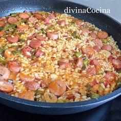 Rice Dishes, Empanadas, Hawaiian Pizza, Couscous, Quinoa, Risotto, Macaroni And Cheese, Pasta, Ethnic Recipes
