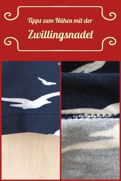 Latest Free Sewing projects advanced Concepts Nähen mit der Zwillingsnadel: 5 Tipps Sewing Hacks, Sewing Tutorials, Sewing Tips, Tutorial Sewing, Sewing Patterns Free, Susa, Leftover Fabric, Love Sewing, Scrappy Quilts