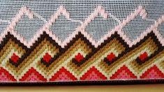 My third Bargello! Bargello Patterns, Bargello Needlepoint, Cross Stitch Alphabet, Cross Stitch Animals, Hardanger Embroidery, Hand Embroidery, Bag Pattern Free, Embroidery Stitches Tutorial, Rug Hooking