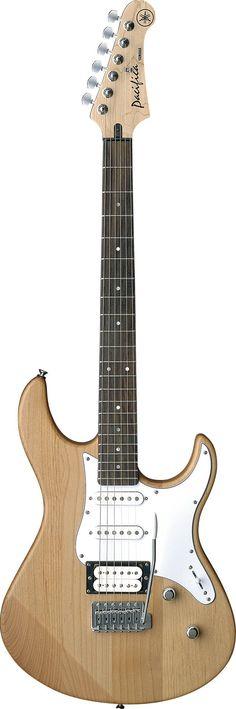 YAMAHA PACIFICA PA112V YELLOW NATUAL SATIN Electric guitars Stratocaster