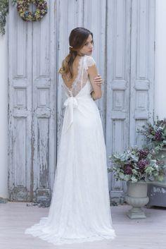 La mariee aux pieds nus - Marie Laporte - Creation de robes de mariee - collection 2014 - CELESTINA