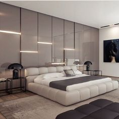 Modern Luxury Bedroom Design Ideas – H. - 14 Modern Luxury Bedroom Design Ideas – Home Decor Modern Luxury Bedroom Design Ideas – H. - 14 Modern Luxury Bedroom Design Ideas – Home Decor - Modern Luxury Bedroom, Luxury Bedroom Design, Master Bedroom Design, Contemporary Bedroom, Luxurious Bedrooms, Interior Design, Luxury Bedrooms, Bedroom Designs, Master Bedrooms