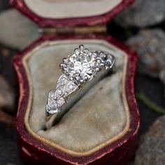 Vintage Engagement Rings   Antique Diamond Rings   EraGem Estate Engagement Ring, Antique Engagement Rings, Diamond Engagement Rings, Antique Diamond Rings, Vintage Diamond, June Birth Stone, Diamond Cuts, Heart Ring, Wedding Rings