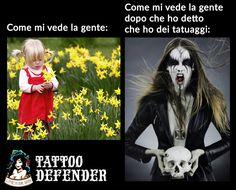 Fun tattoo  www.tattoodefender.com  #humor #tattooing #cartoons #ecards #memes #tattooartist #pinterest #ha #hashtag #haha #hahaha #lol #tattoo #tattoos #tatuaggi #tatuaggio #meme #tattoodefender