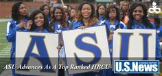 U.S. News & World Report has released this year's list of top ranked colleges and universities. Albany State University is listed among the top Historically Black Colleges and Universities in the nation.  Previously unranked, ASU made the cut at number 15 among all public HBCUs nationally.