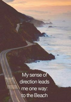 My sense of direction leads me 1 way to the #beach #surferproblems