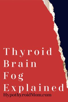 Are You Living Life with Thyroid Brain Fog? Hashimoto Thyroid Disease, Thyroid Disease Symptoms, Hypothyroidism Diet, Thyroid Diet, Thyroid Issues, Thyroid Cancer, Thyroid Hormone, Thyroid Problems, Thyroid Health
