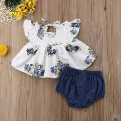 Floral T-shirt Dress a cute summer outfit for your baby girl. - Baby Girl Dress - Ideas of Baby Girl Dress Baby Girl Names, Cute Baby Girl, Baby Girl Newborn, Cute Babies, Baby Baby, Baby Boy Suit, Chic Baby, Baby Girl Romper, Boy Names