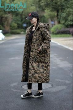 Find More Down & Parkas Information about 100% cotton clothing women's or men's vintage camouflage thick long outerwear parkas winter jacket women coat LinenAll YIJIU,High Quality parka cotton,China clothing mens Suppliers, Cheap clothing mannequin from LinenAll on Aliexpress.com