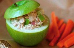 Ensalada de atún con manzana ... ¡Rico! #RecetasDeCuaresma