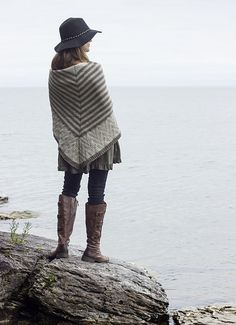 the comfort of lines by melissa schaschwary / in quince & co. lark
